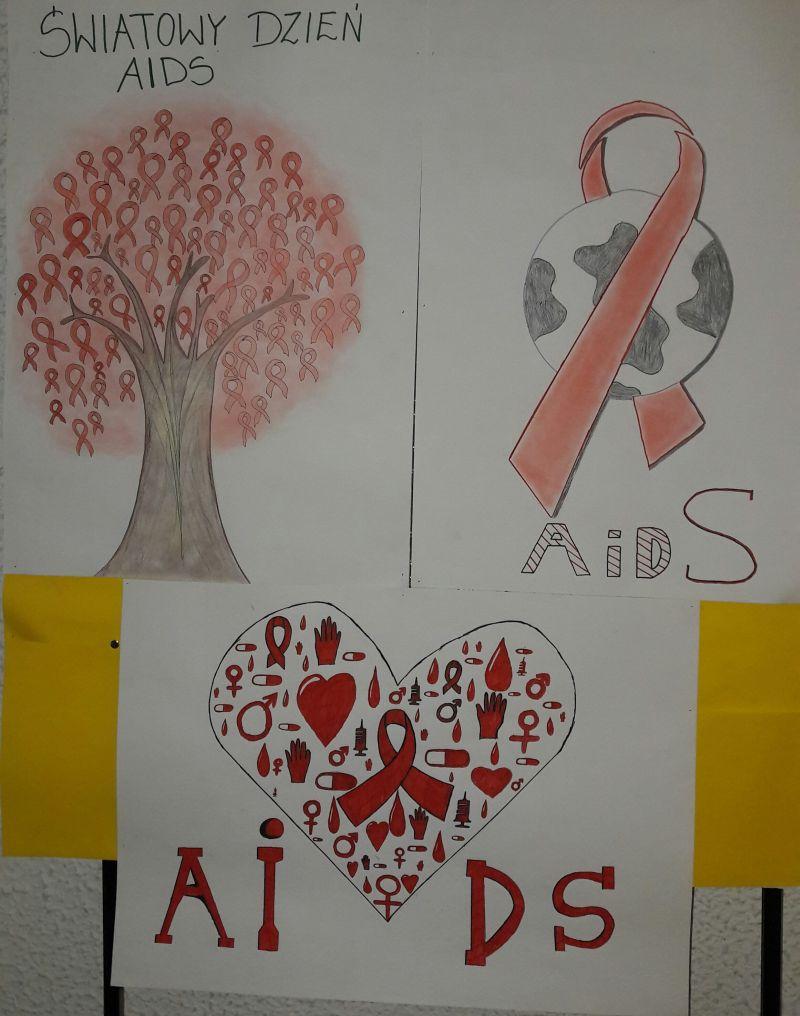 światowy Dzień Aids Zsp Wolin Zsp Wolin